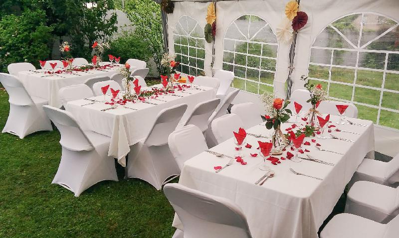 photo mariage - les tables