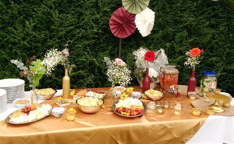 photo mariage - buffet